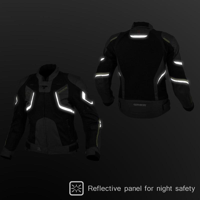 Tại sao áo giáp Komine JK 143 R-SPEC an toàn nhất cho người đi motor?